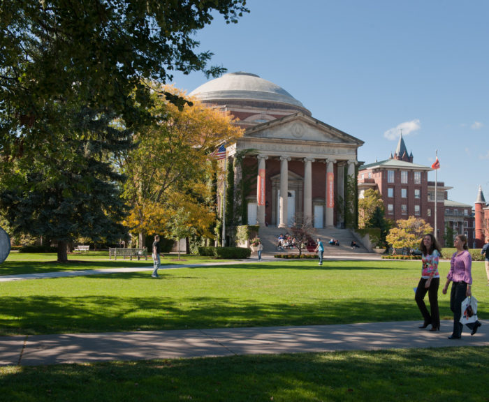 Hendricks Chapel and Quad