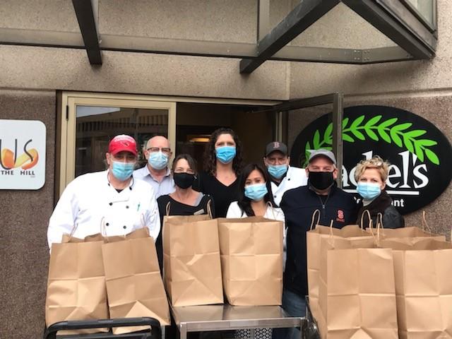 Sheraton staff donates meals